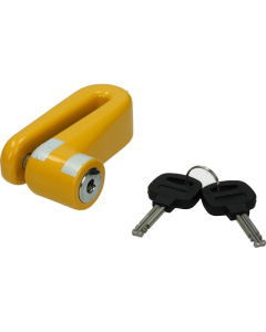 Remschijfslot Mokix geel (MOK-8169)
