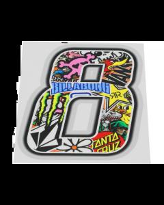 Stickerbomb sticker #8 10cm (T4T-050278)