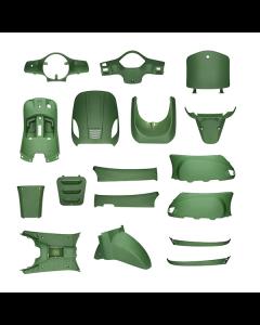 Kappenset mat groen 17 delig AGM VX50, BTC Riva, Vespelini (DMP-78691)