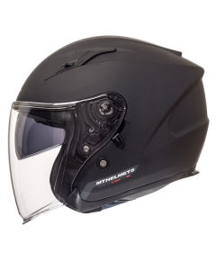 Helm MT Avenue Mat zwart Maat S (MT-105100034)