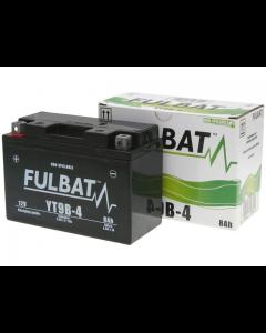Accu Fulbat YT9B-4 Gel SLA 12V 8Ah (Onderhoudsvrij) (FB-550642)