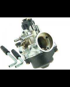 Carburateur DMP - 17.5 mm - Chroom - Minarelli - Kabelchoke (DMP-50049)