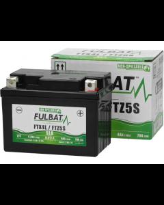 Accu Fulbat Gel YTX4L-BS SLA 12V 4Ah (Onderhoudsvrij) (FB-550671)