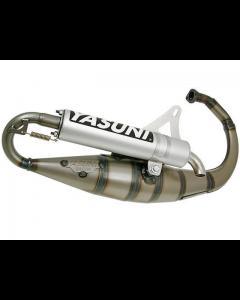 Uitlaat Yasuni R Aluminium Minarelli Verticaal 2 Takt (YAS-TUB307)