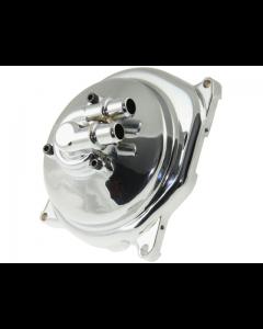 Waterpomp deksel DMP - Minarelli Horizontaal - Chroom (DMP-27009)