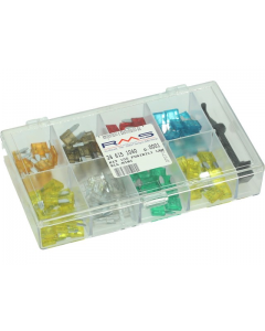 Steekzekeringset RMS Mini 5-30A 100 delig (RMS-246151040)