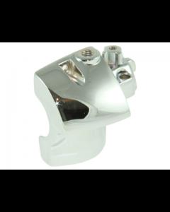 Houder Stuurschakelaar DMP - Yamaha Aerox - Rechts - Chroom (DMP-25494)