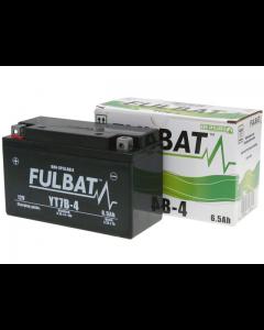 Accu Fulbat YT7B-4 Gel SLA 12V 6.5Ah (Onderhoudsvrij) (FB-550641)