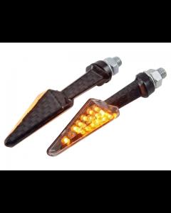 Knipperlichten STR8 - Micro - Carbon - Universeel (STR-675.75/CA)