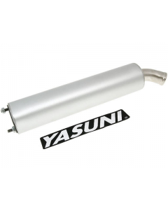 Uitlaatdemper Yasuni Cross, HMR2, R2, R3, SPR3 Aluminum (YAS-SIL036R)