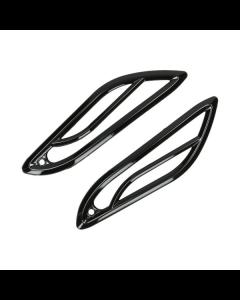 Knipperlicht roosters achter glans zwart Vespa Primavera en Sprint (DMP-38632)