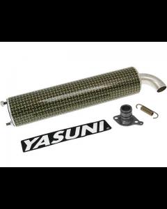 Uitlaatdemper Yasuni R, R/07, C16, C20, C21 Kevlar (YAS-SIL041R)