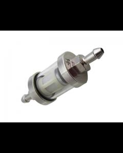 Benzinefilter NCY - Chroom - Kort (TNT-425010)