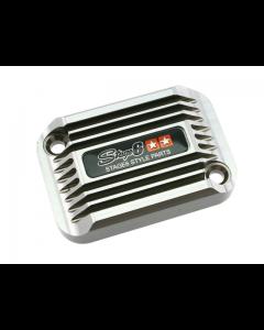 Rempot deksel Stage6 - Cooling Style - Aprilia SR tot 2005 - Titanium (S6-SSP082-2BZ/TI)