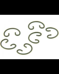 Pistonpen circlip / borgveer Polini - 10 x 1 mm - (Per stuk) (POL-272.0120)