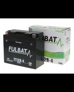 Accu Fulbat YT12B-4 Gel SLA 12V 10Ah (Onderhoudsvrij) (FB-550643)