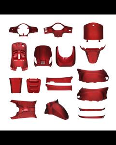 Kappenset mat rood 17 delig AGM VX50, BTC Riva, Vespelini (DMP-78692)