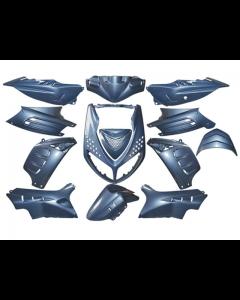 Kappenset 13 delig DMP - Peugeot Speedfight 2 - Grijsblauw (DMP-60514)