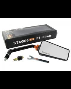 Spiegel Stage6 - F1 - Carbon (Glans) - Rechts (S6-SSP630-2R/CA)