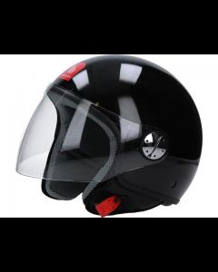 Helm MT Zyclo Glans zwart Maat M (MT-110200025)