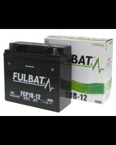Accu Fulbat FCP18-12 Gel SLA 12V 18Ah (Onderhoudsvrij) (FB-550632)