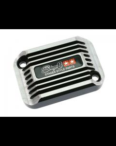 Rempot deksel Stage6 - Cooling Style - Aprilia SR tot 2005 - Zwart (S6-SSP082-2BZ/BK)