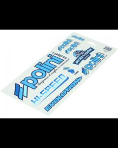 Stickerset Polini - 30 x 17 cm (POL-225.020)