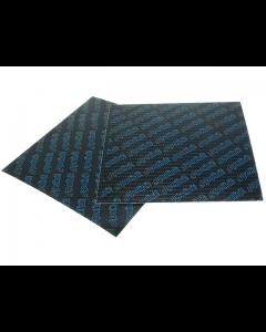 Membraanplaat vel Polini - Carbon - Universeel - Blauw - 0.30 mm (POL-213.0600)