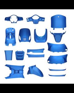 Kappenset mat blauw 17 delig AGM VX50, BTC Riva, Vespelini (DMP-78693)