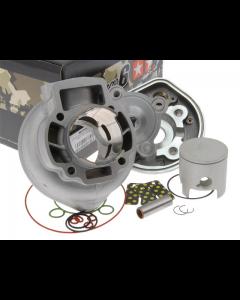 Cilinder Stage6 - 70 cc - Racing Modulair - Gilera & Piaggio - Watergekoeld - Pen 12 (S6-7014001/RM)