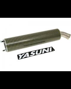 Uitlaatdemper Yasuni R1 Kevlar (YAS-SIL045R)