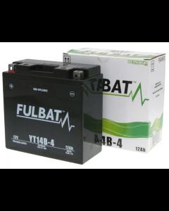 Accu Fulbat YT14B-4 Gel SLA 12V 12Ah (Onderhoudsvrij) (FB-550644)