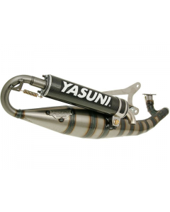 Uitlaat Yasuni R/07 Carbon Minarelli Horizontaal 2 Takt (YAS-TUB317C)