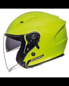 Helm MT Avenue Fluor Geel Maat L (MT-105100066)