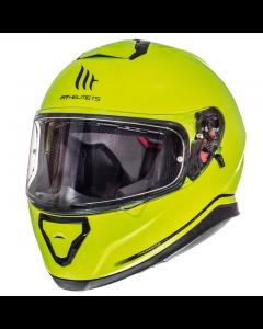 Helm MT Thunder III Fluor geel Maat M (MT-105500055)
