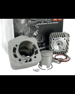 Cilinder Stage6 - 70 cc - RACING MKII - Gilera & Piaggio - Luchtgekoeld - Pen 12 (S6-7414005)