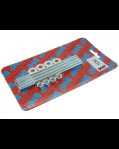 Cilinder Tapeinden DMP - Inclusief moeren - Derbi Senda / Zundapp - M7 x 180 (DMP-65174)