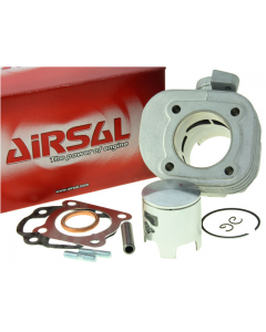 Cilinder Airsal / Eurokit - 70 cc - T6 - Minarelli Horizontaal - Luchtgekoeld - Pen 10 (AIR-021316476)