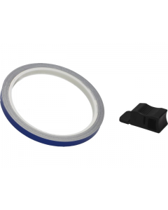 Velgstriping Pro Grip - 7mm x 6m - Blauw Reflecterend (PRO-5025-B)