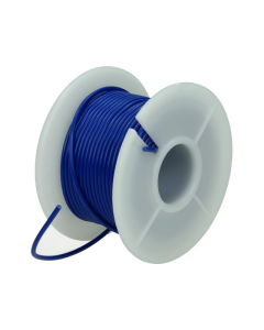 Montagesnoer / Lichtsnoer  0.75 mm²  Blauw 25 Meter (UNI-496249)
