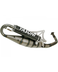 Uitlaat Yasuni R Carbon Piaggio 2 Takt (YAS-TUB420C)