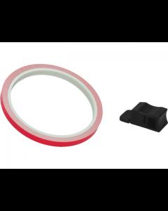 Velgstriping Pro Grip - 7mm x 6m - Roze Fluoriserend (PRO-5025-R)