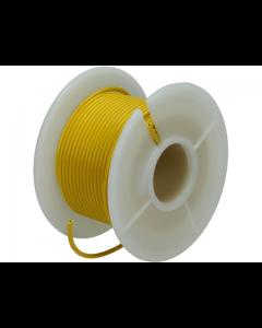 Montagesnoer / Lichtsnoer  0.75 mm²  Geel 25 Meter (UNI-496250)