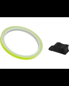 Velgstriping Pro Grip - 7mm x 6m - Geel Fluoriserend (PRO-5025-Y)
