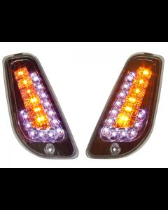 Knipperlichten Power1 - Vespa LX / LXV / S - Voor - LED - Audi look dagrijverlichting (P1-24VE50)