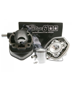 Cilinder Stage6 - 70 cc - STREETRACE - Minarelli Horizontaal - Watergekoeld - Pen 10 (S6-7216651)