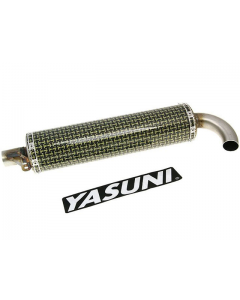 Uitlaatdemper Yasuni C30 Kevlar (YAS-SIL054R)