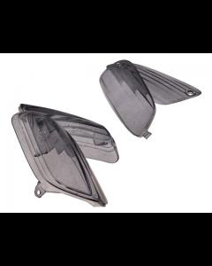 Knipperlicht glasset STR8 - Aprillia SR50 Factory - Smoke (STR-623.12/BK)