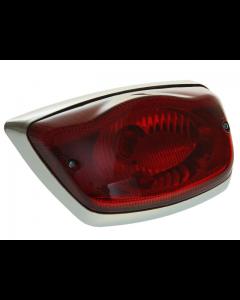 Achterlicht DMP - Vespa LX / LXV / S / GTS300 - Chrome rand (DMP-41085)