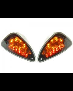 Knipperlichten Power1 - Vespa LX / LXV / S - Achter - LED Smoke - Audi look dagrijverlichting (P1-24VE53)